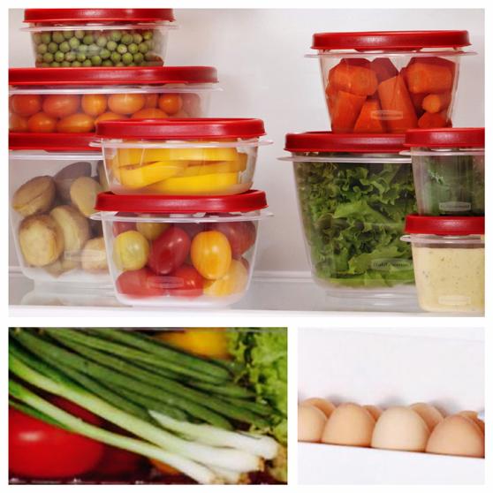 gli indispensabili in frigorifero