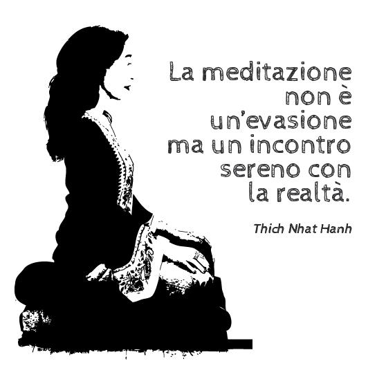 La posizione per la meditazione