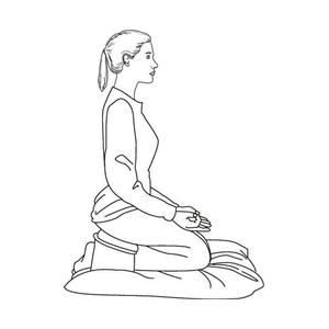 posizioni della meditazione - postura