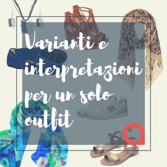 Varianti e interpretazioni per un solo outfit