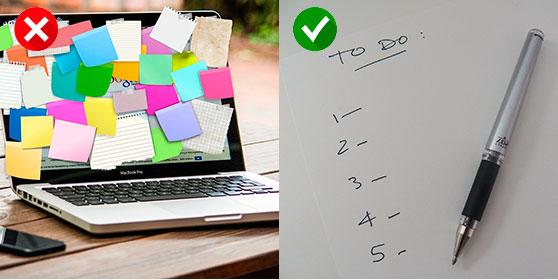 definisci le priorità - smart working